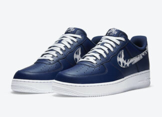 Nike Air Force 1 Low Navy Animal Swoosh CZ7873-400 Release Date Info