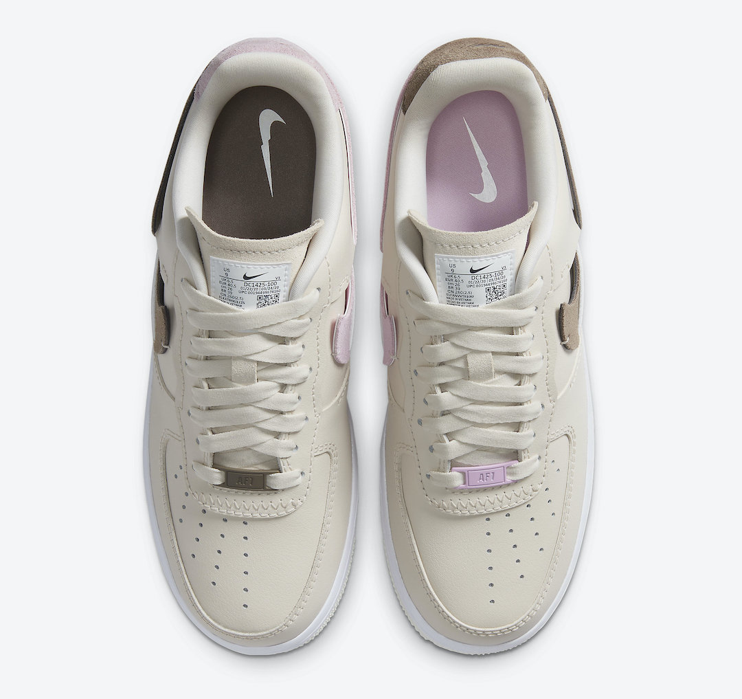 Nike Air Force 1 Low Vandalized Light Orewood Brown DC1425-100 Release Date Info