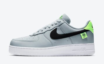 Nike Air Force 1 Low Worldwide Pure Platinum Green Strike CK7648-002 Release Date Info