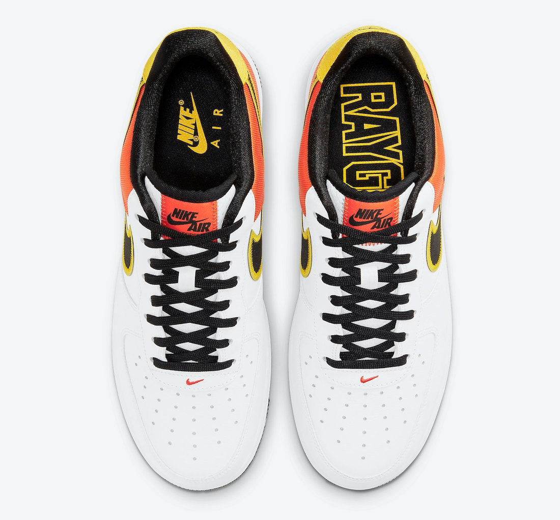 Nike Air Force 1 Rayguns CU8070-100 Release Date