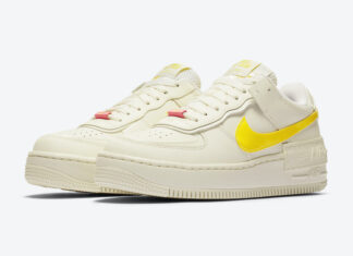 Nike Air Force 1 Shadow Opti Yellow CZ0375-100 Release Date Info