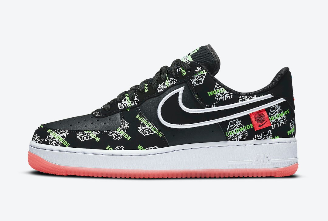 Nike Air Force 1 Worldwide DA1343-003 Release Date Info