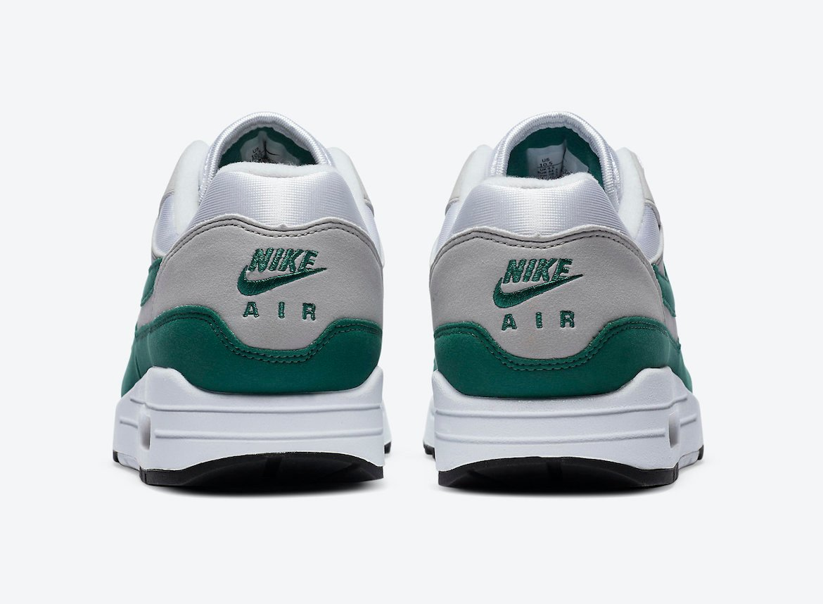 Nike Air Max 1 Anniversary Hunter Green DC1454-100 Release Date Info