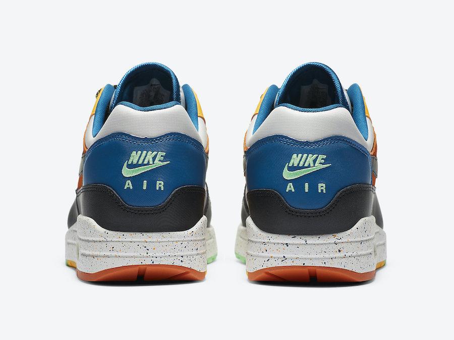 Nike Air Max 1 Multi Mix CZ8140-001 Release Date Info