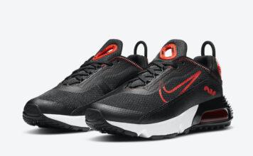 Nike Air Max 2090 Black Chile Red CJ4066-004 Release Date Info