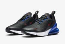 Nike Air Max 270 Black Blue DC0957-001 Release Date Info