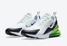 Nike Air Max 270 White Black Volt DC0957-100 Release Date Info