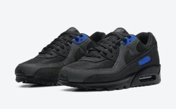 Nike Air Max 90 Black Royal DA1505-001 Release Date Info
