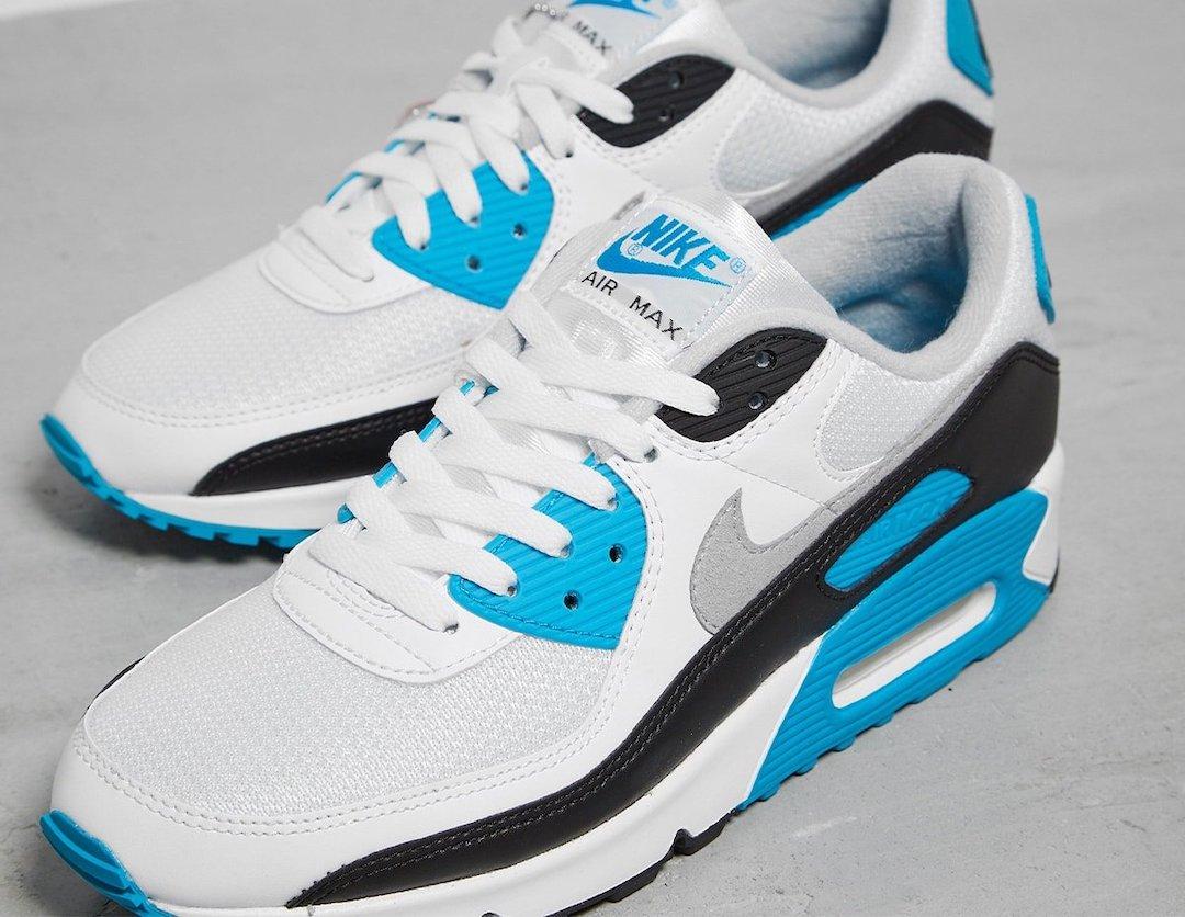 Nike Air Max 90 OG Laser Blue 2020 Release Info