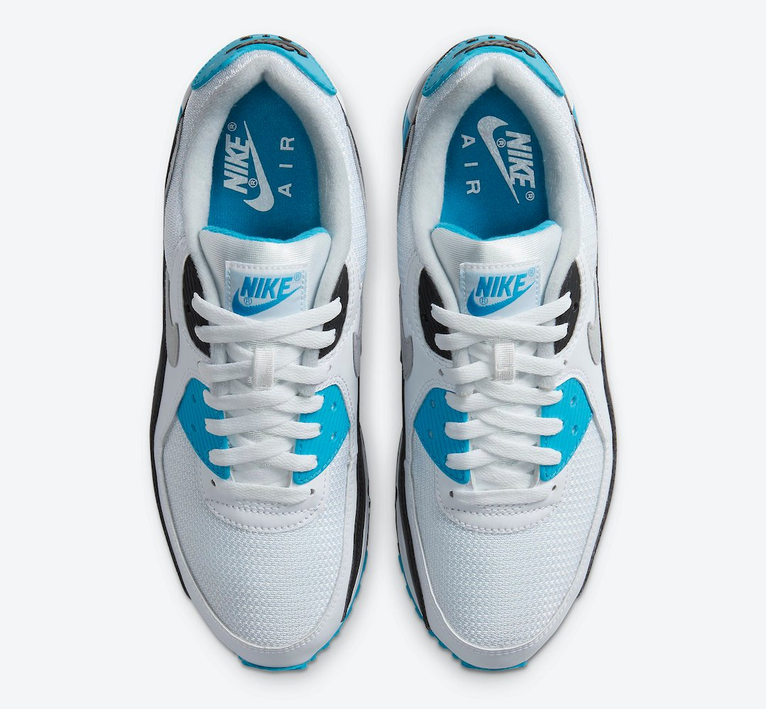 Nike Air Max 90 OG Laser Blue CJ6779-100 2020 Release Date
