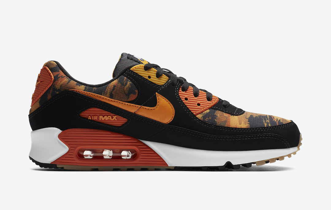 Nike Air Max 90 Orange Camo CZ7889-001 Release Date Info