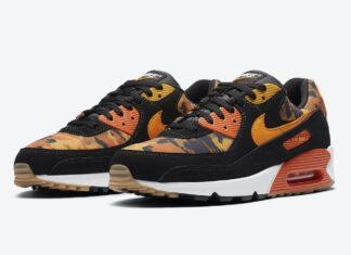 Nike Air Max 90 Orange Camo CZ7889-001 Release Date Info