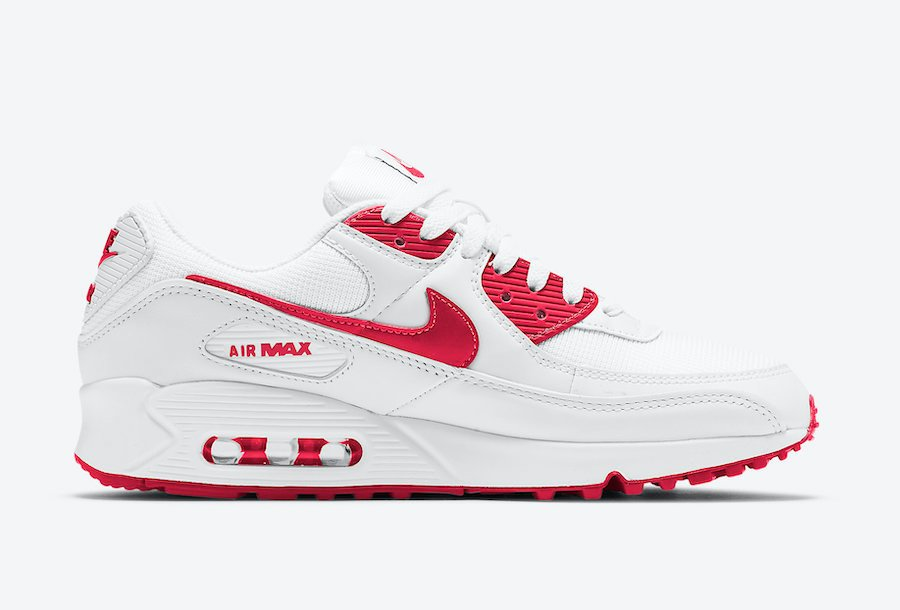 Nike Air Max 90 University Red CT1028-101 Release Date Info