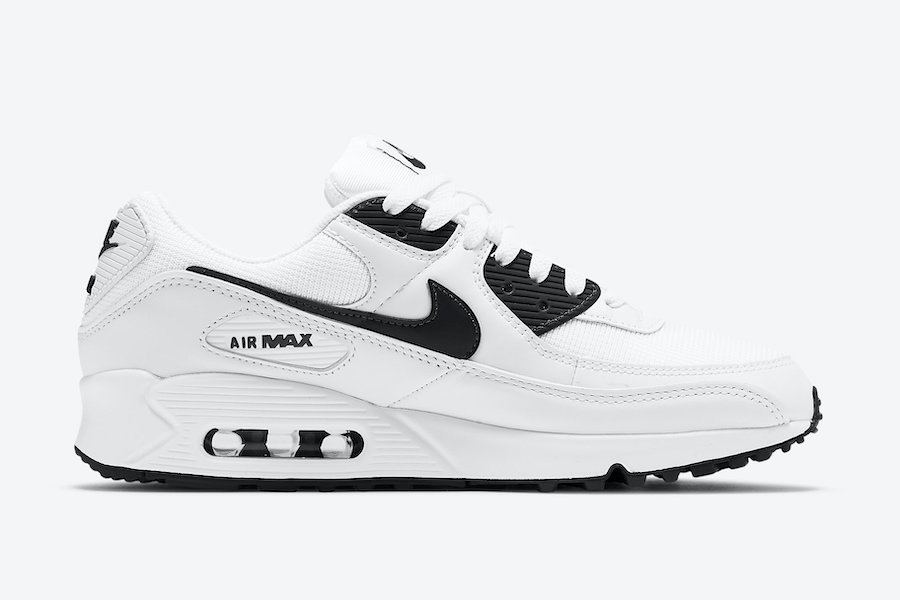 Nike Air Max 90 White Black CT1028-103 Release Date Info