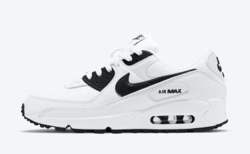 Nike Air Max 90 White Black CT1028-103 Release Date Info