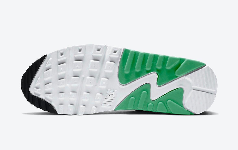 Nike Air Max 90 White Black Green CT1039-101 Release Date Info