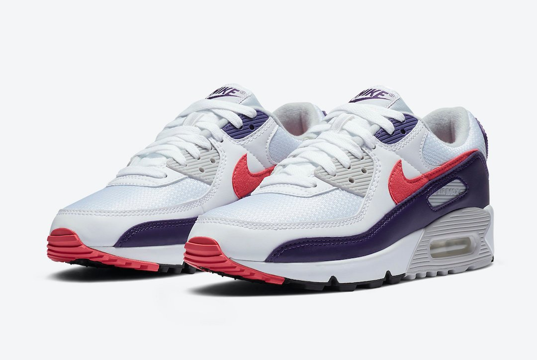 Nike Air Max 90 WMNS Eggplant CW1360-100 Release Date Info