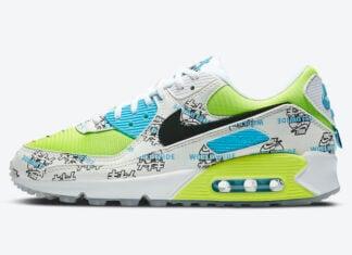 Nike Air Max 90 WMNS Worldwide Pack DA1342-107 Release Date Info