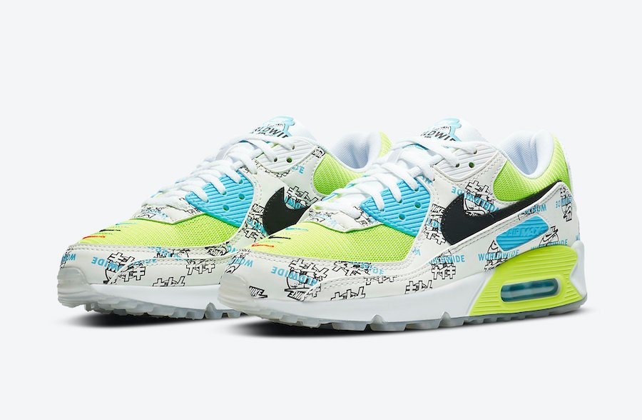 Nike Air Max 90 WMNS Worldwide Pack DA1342-107 Release Date Info