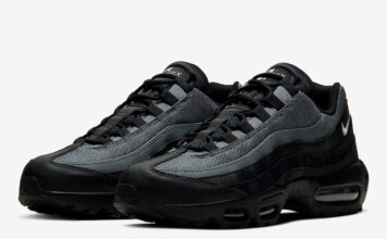 Nike Air Max 95 Black Smoke Grey CI3705-002 Release Date Info