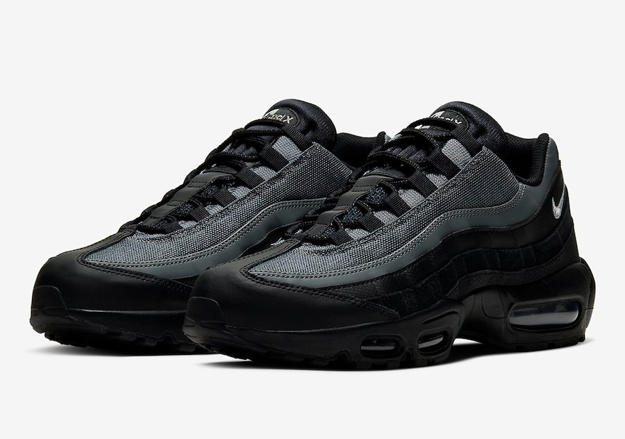 Nike Air Max 95 Black Smoke Grey CI3705-002 Release Date Info
