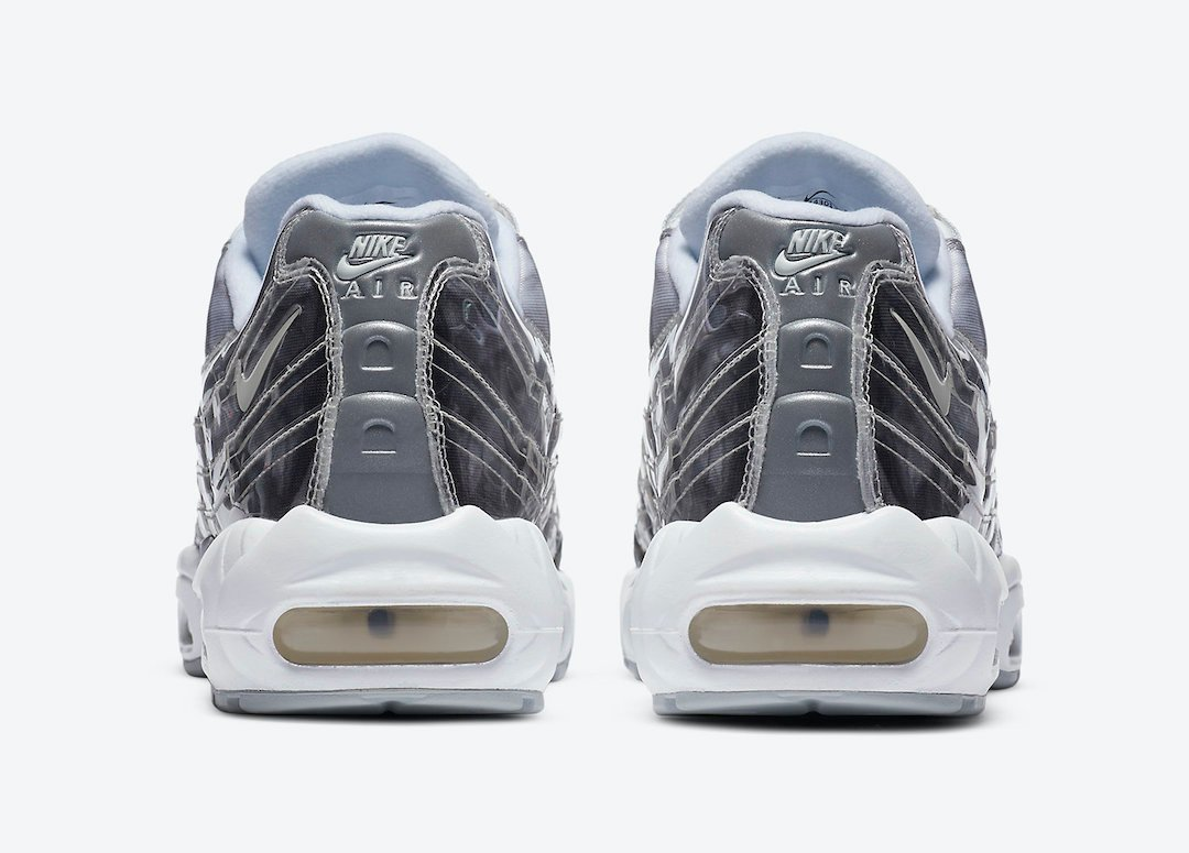 Nike Air Max 95 Grey White Silver DA4301-100 Release Date Info