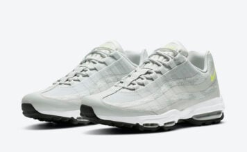 Nike Air Max 95 Grey Yellow CZ7551-001 Release Date Info