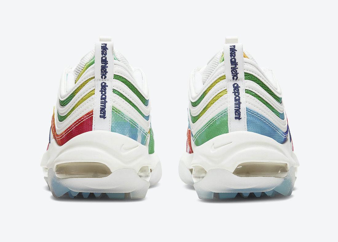 Nike Air Max 97 Golf Tie-Dye CK1219-100 Release Date Info