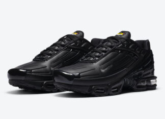 Nike Air Max Plus 3 Black Leather CK6716-001 Release Date Info