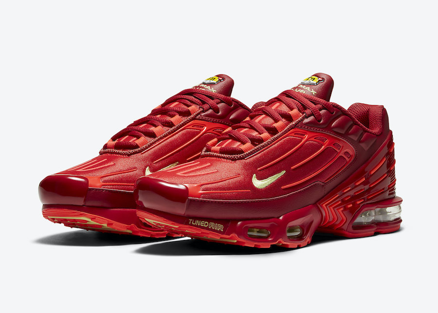 Nike Air Max Plus 3 Red CK6715-600 Release Date Info