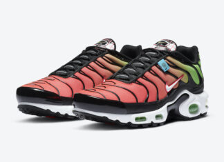 Nike Air Max Plus Worldwide Green Strike Crimson CK7291-001 Release Date Info