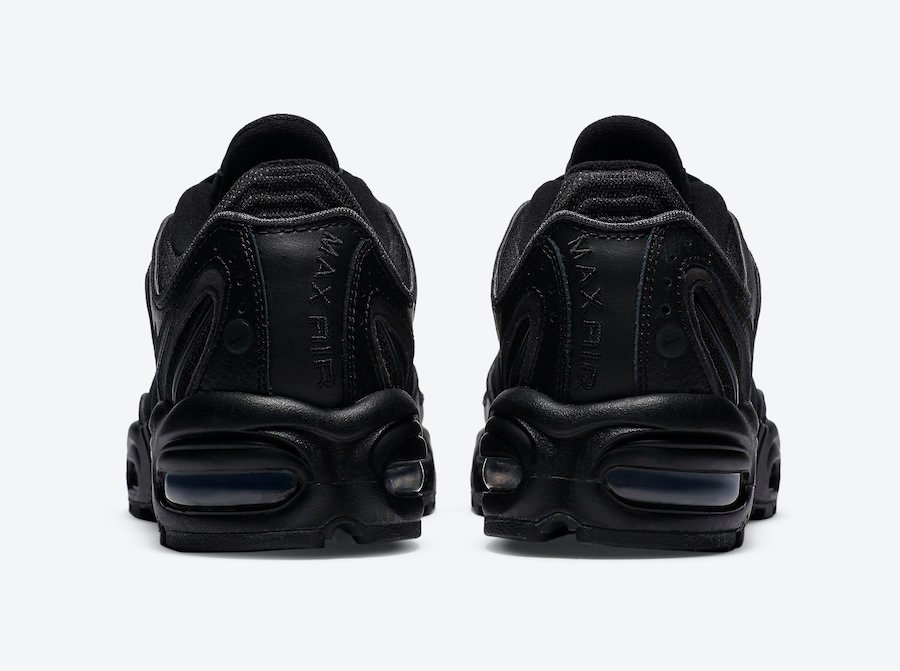 Nike Air Max Tailwind 4 IV Triple Black CT0869-001 Release Date Info