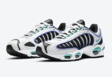 Nike Air Max Tailwind 4 IV White Purple Teal Black CK2613-102 Release Date Info