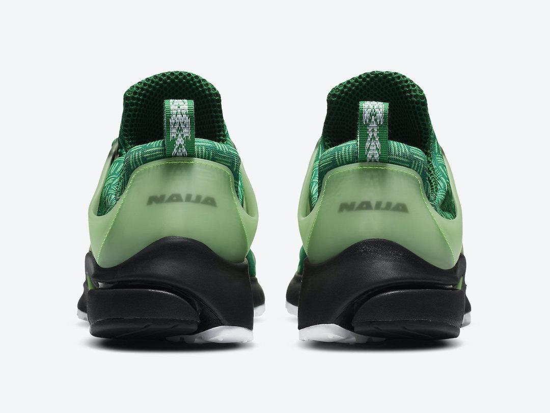 Nike Air Presto Naija CJ1229-300 Release Date Info
