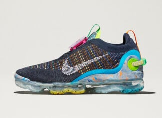 Nike Air VaporMax 2020 Flyknit Blue Multi-Color Release Date Info