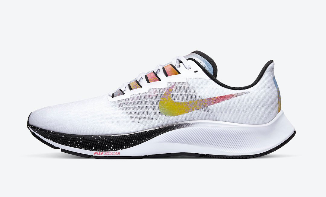Nike Air Zoom Pegasus 37 White Multicolor CZ7864-100 Release Date Info