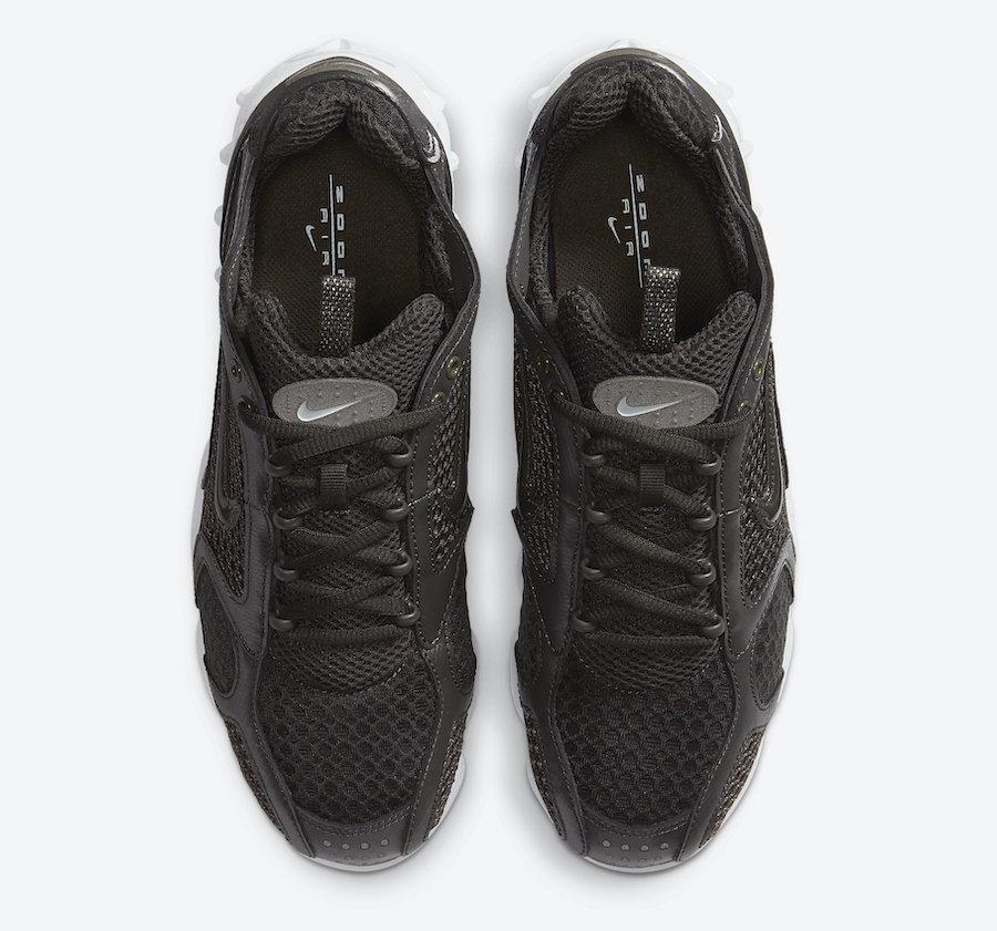 Nike Air Zoom Spiridon Cage 2 Newsprint CJ1288-003 Release Date Info