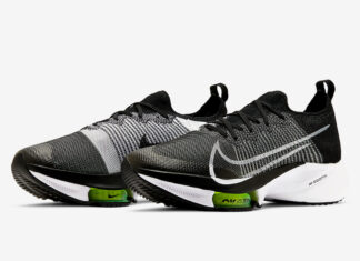 Nike Air Zoom Tempo NEXT% Black White CI9923-001 Release Date Info