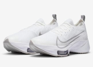 Nike Air Zoom Tempo NEXT% White Grey CI9924-101 Release Date Info