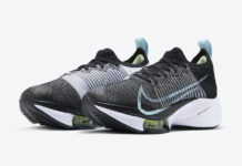 Nike Air Zoom Tempo NEXT% WMNS Black White Glacier Blue CI9924-001 Release Date Info