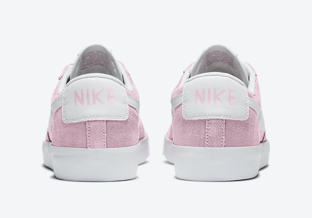 Nike Blazer Low Pink White CZ4703-600 Release Date Info