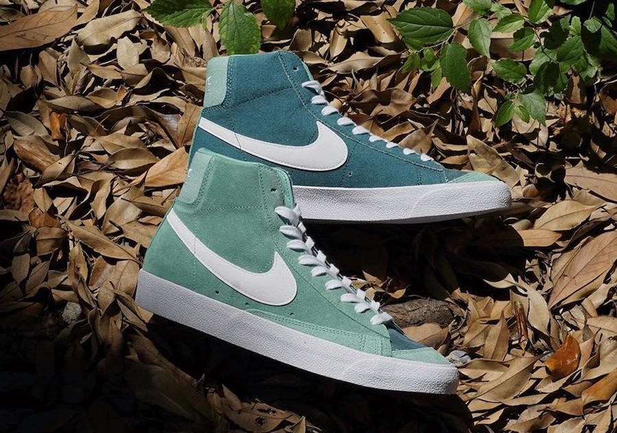 Nike Blazer Mid 77 Vintage Healing Jade Ash Green CZ4609-300 Release Date Info