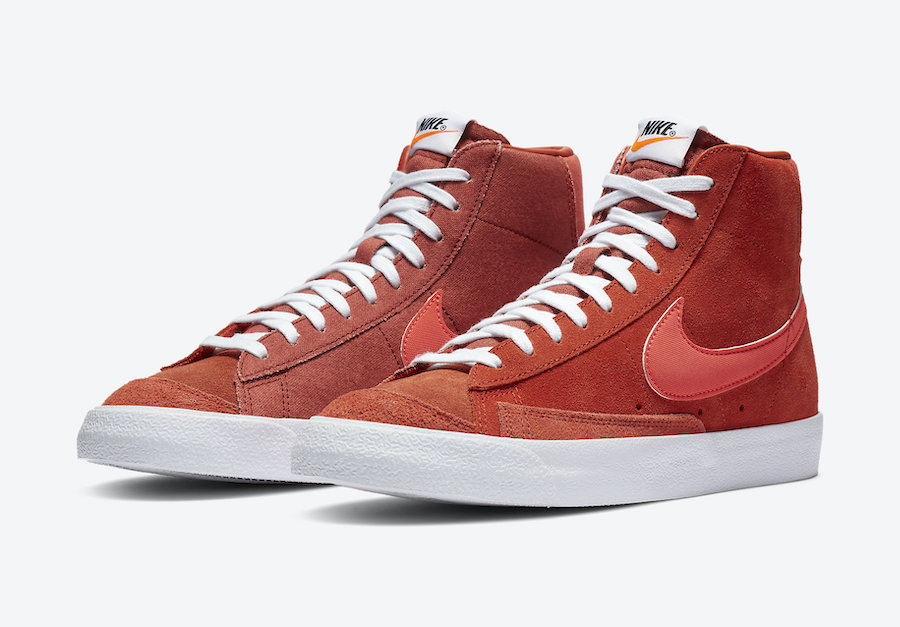 Nike Blazer Mid 77 Vintage Mantra Orange CZ4609-800 Release Date Info