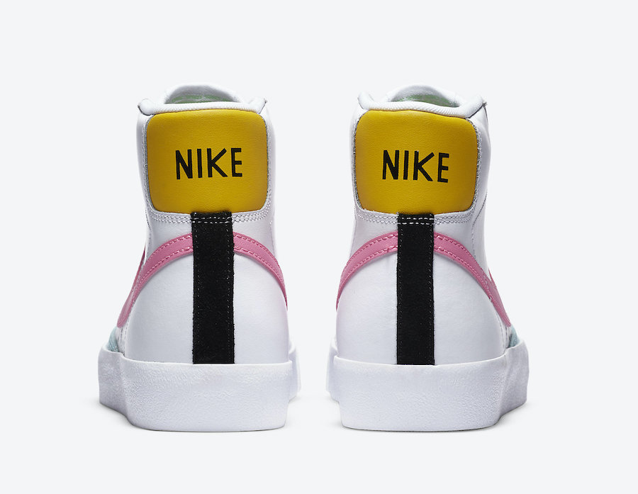 Nike Blazer Mid 77 Vintage Pink Glow DA4295-100 Release Date Info