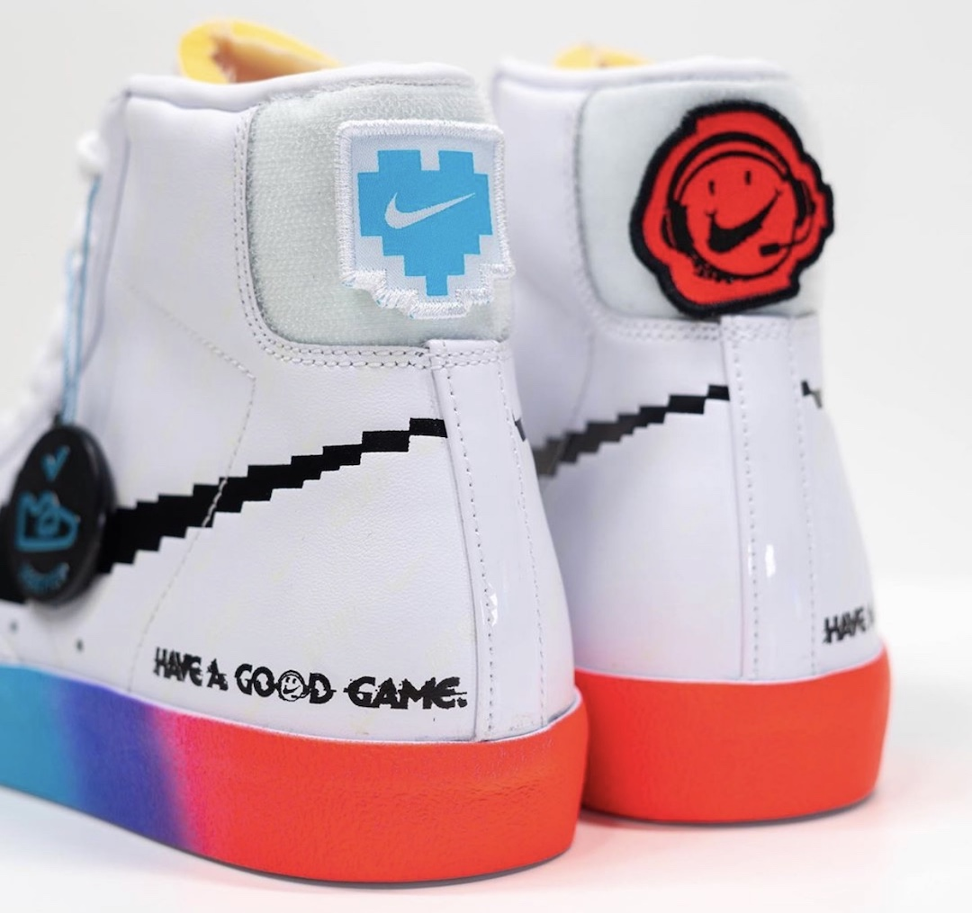 Nike Blazer Mid 77 Vintage Video Game DC3280-101 Release Date Info