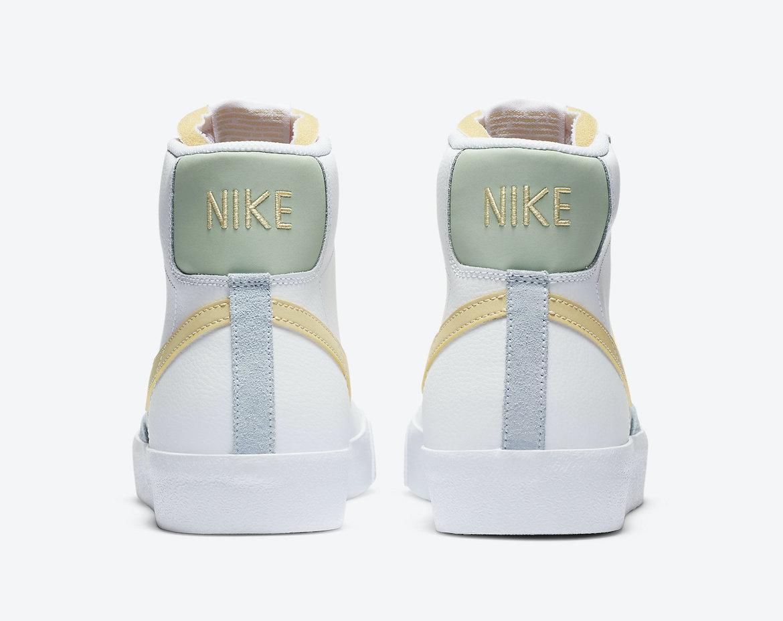 Nike Blazer Mid 77 Vintage White Lemon DC0959-100 Release Date Info