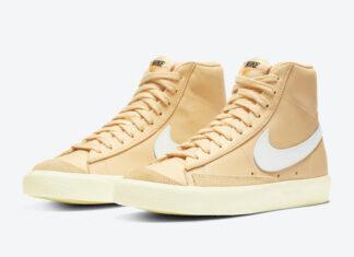 Nike Blazer Mid Canvas White CZ1055-700 Release Date Info