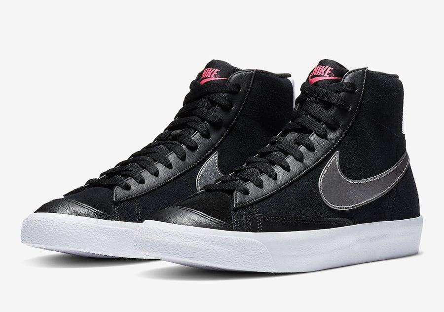 Nike Blazer Mid Vintage 77 Black Silver