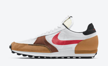 Nike Daybreak Type White Brown Black Red CJ1156-102 Release Date Info