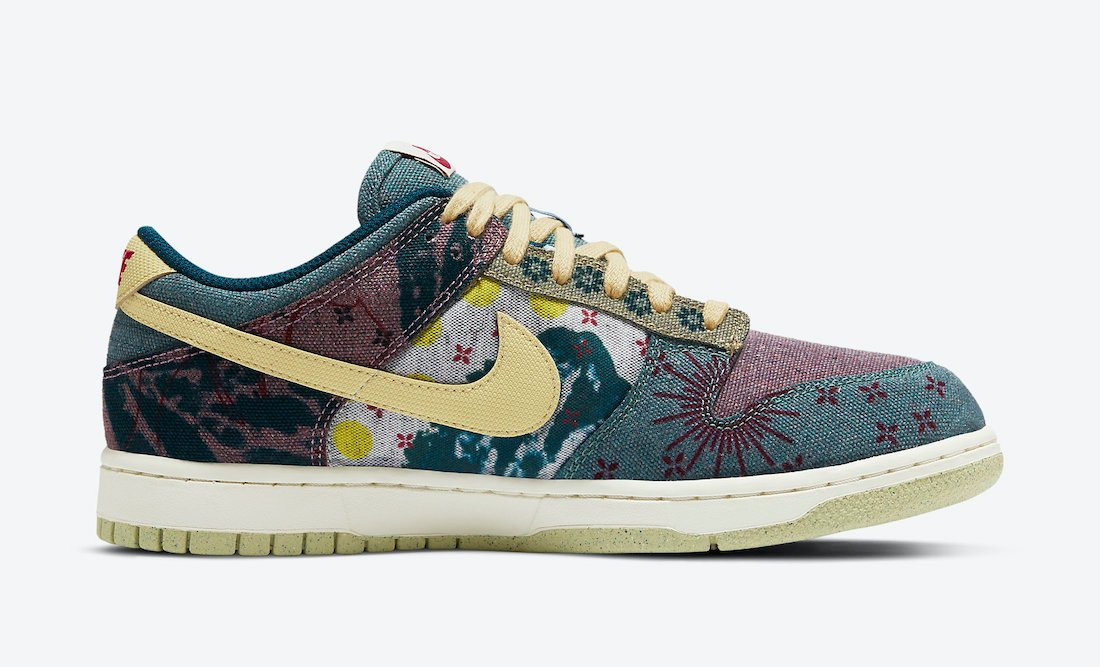 Nike Dunk Low Lemon Wash CZ9747-900 Release Info Price